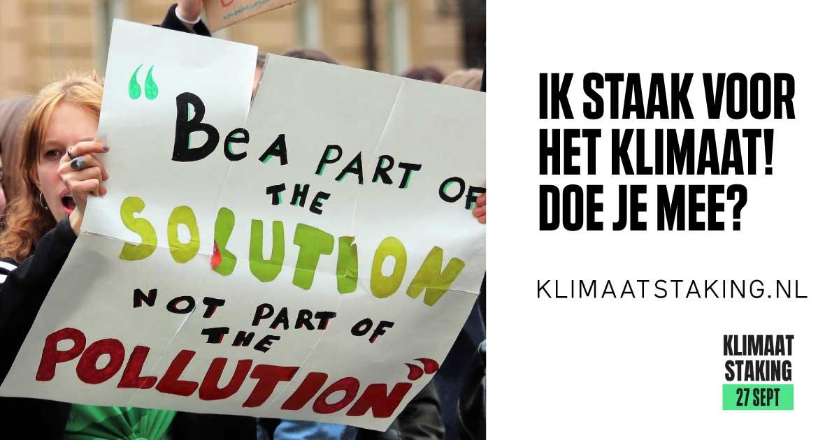 Klimaatstaking 27 september: Wat kun jij doen?