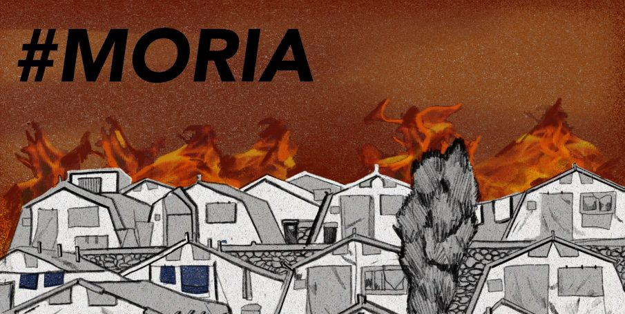 Kabinet, steun de vluchtelingen in Moria!
